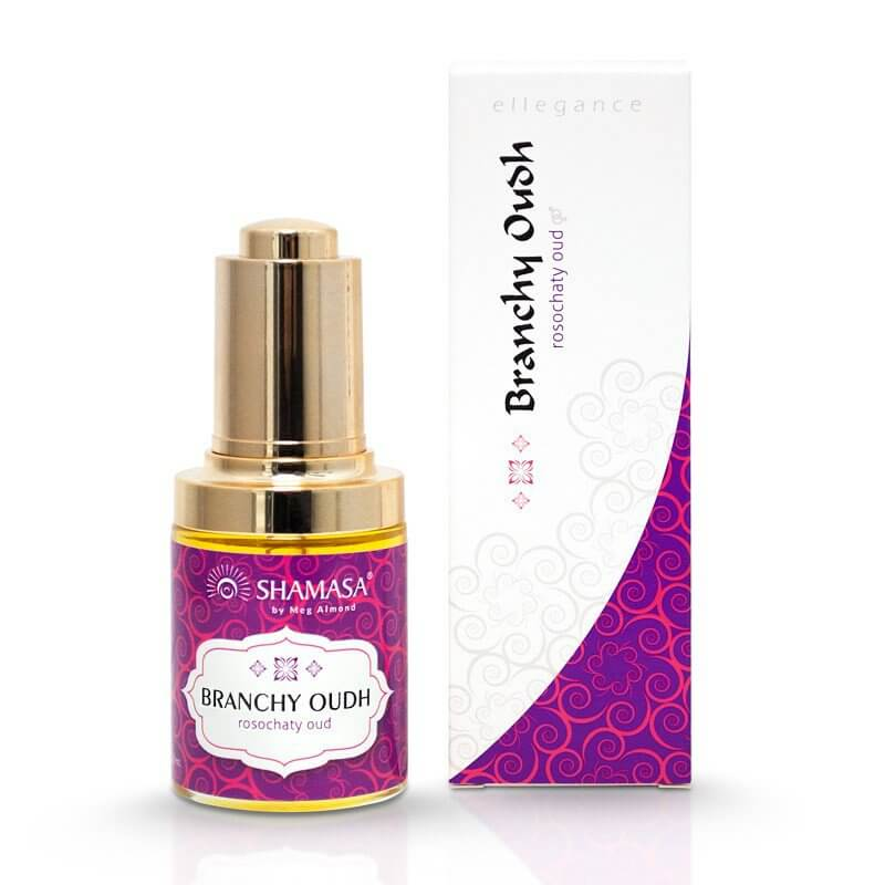 Branchy Oudh - massage oil, perfume substitute