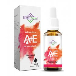 Witamina A+E w kroplach 30 ml / Soul-Farm