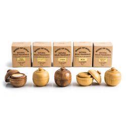 Zestaw pięciu naturalnych perfum