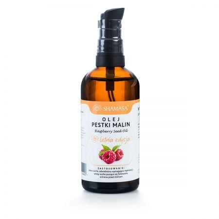 Olej z pestek malin - naturalna ochrona przed słońcem 100 ml LETNIA EDYCJA