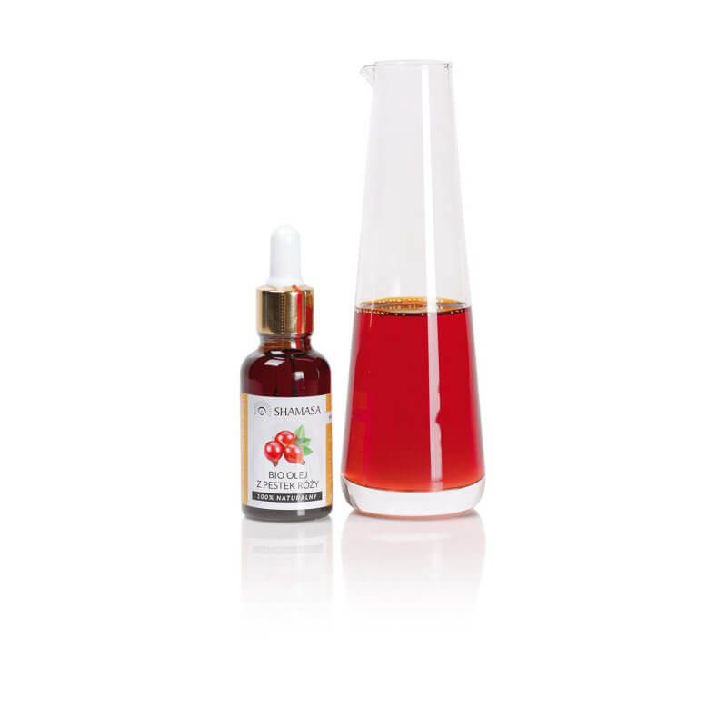 Olej z pestek róży BIO - królowa olejków