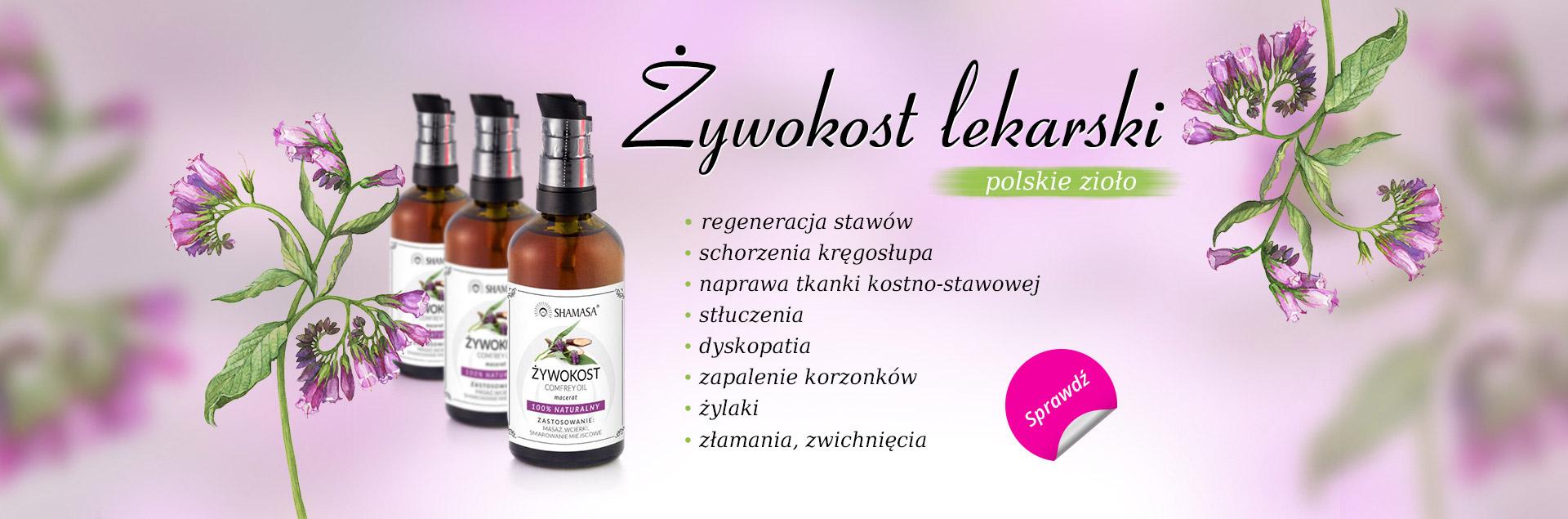 Żywokost lekarski - polskie zioło
